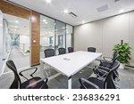 modern office meeting room... | Shutterstock . vector #236836291