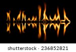 fire abstract and flames shapes ...   Shutterstock . vector #236852821