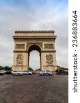 paris  france   july 14 2014 ... | Shutterstock . vector #236883664