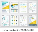 business info graphics vector... | Shutterstock .eps vector #236884705