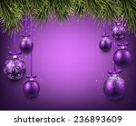 abstract background with purple ... | Shutterstock .eps vector #236893609