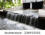 Water Stream Flowing Out The...