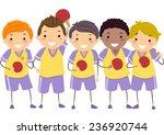 Illustration Of Little Boys In...