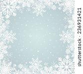 winter background | Shutterstock .eps vector #236931421