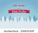 christmas background | Shutterstock .eps vector #236931439