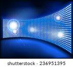 the big screen. vector... | Shutterstock .eps vector #236951395