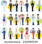 cartoon vector characters of... | Shutterstock .eps vector #236989039