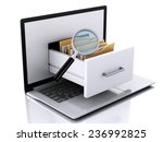image of 3d renderer... | Shutterstock . vector #236992825
