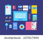 modern design flat icon vector... | Shutterstock .eps vector #237017494