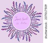 lavender frame   Shutterstock .eps vector #237017509