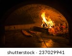 Cooking Pide In A Stone Oven....