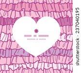 vector pink ruffle fabric... | Shutterstock .eps vector #237040195