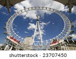 londoneye photographed from a... | Shutterstock . vector #23707450