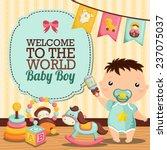 baby room   Shutterstock .eps vector #237075037