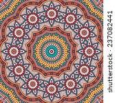 mandala background. vintage... | Shutterstock .eps vector #237082441