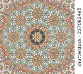 mandala background. vintage... | Shutterstock .eps vector #237082465