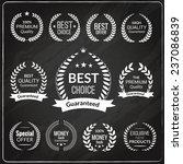 sale premium quality exclusive... | Shutterstock . vector #237086839