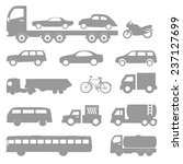 car vector and icon set great... | Shutterstock .eps vector #237127699