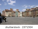 old town sqare with  tenement... | Shutterstock . vector #2371504