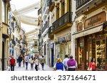seville  spain   circa 2014 ... | Shutterstock . vector #237164671