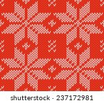 red and white colors seamless ... | Shutterstock .eps vector #237172981
