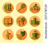 sketch green life set in...   Shutterstock .eps vector #237178729