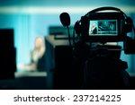 young beautiful blonde... | Shutterstock . vector #237214225