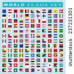 world flags icon  vector... | Shutterstock .eps vector #237231301