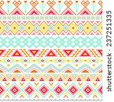 ethnic seamless pattern. aztec... | Shutterstock .eps vector #237251335