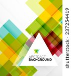 square shape abstract layouts ... | Shutterstock . vector #237254419
