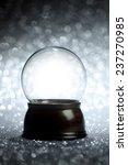 empty snow globe christmas...   Shutterstock . vector #237270985