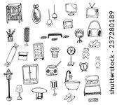 housewares sketch vector symbol | Shutterstock .eps vector #237280189