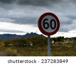 speed limit sign | Shutterstock . vector #237283849
