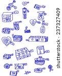 gift  sketch | Shutterstock .eps vector #237327409