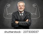 strong businessman | Shutterstock . vector #237333037