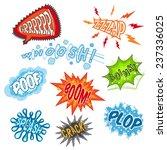 comic sounds humour... | Shutterstock .eps vector #237336025