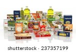 3d Collection Of Packaged Food...
