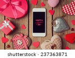 smartphone mock up template for ... | Shutterstock . vector #237363871