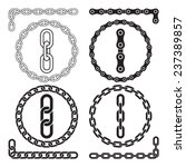 Chains. Vector Illustration....
