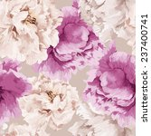 seamless floral pattern with... | Shutterstock .eps vector #237400741