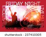 party poster. vector... | Shutterstock .eps vector #237410305