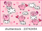 pigs on the wing | Shutterstock .eps vector #23742454