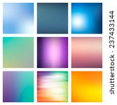 9 abstract colorful smooth...   Shutterstock .eps vector #237433144