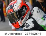 Постер, плакат: Spanish Ducati rider Hector