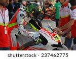 Постер, плакат: Italian Ducati rider Andrea