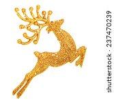 Beautiful Golden Reindeer Toy...