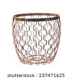 futuristic candle stick holder... | Shutterstock . vector #237471625
