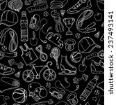vector illustration black and... | Shutterstock .eps vector #237493141