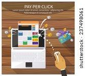 flat design modern vector... | Shutterstock .eps vector #237498061