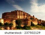 Citadel Of Mehrangarh In...